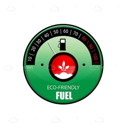 eco friendly fuel meter vectorjunky free vectors icons logos and more. Black Bedroom Furniture Sets. Home Design Ideas