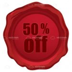 Red Wax Seal with 50% OFF Engraving