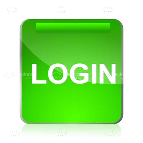 Green Login Icon