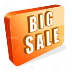 Orange 'Big Sale' Icon