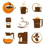 Coffee Themed Icon Set