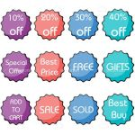Discount Icons Pack