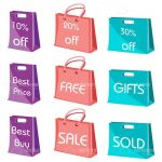 9 Pack of Shopping Bag Icons