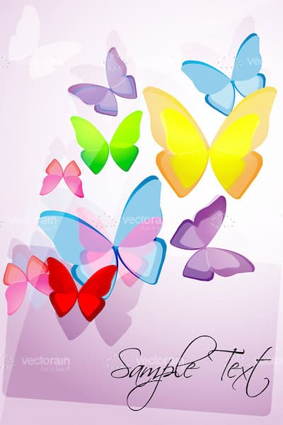 Background of butterfly