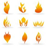 The Shapes of Fire Icon 9 Pack