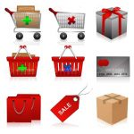Shopping Icons 9 Pack