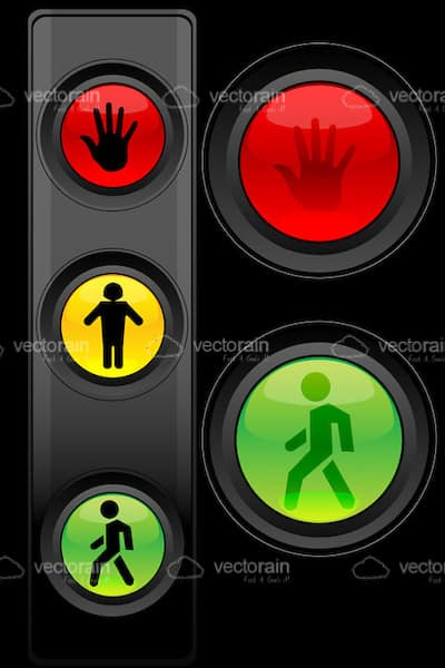 Traffic Light Symbols Vectorjunky Free Vectors Icons Logos And