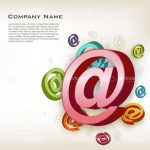 @ Symbol Company Business Card with Sample Text