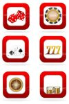 Casino Icons 6 Pack