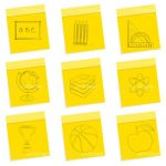School Activities Icon Set