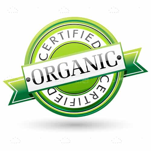 Certified Organic Tag