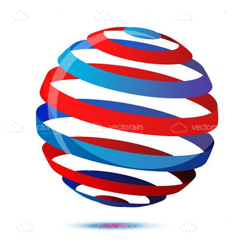 Colorful 3D Sphere