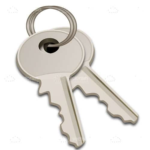 Silver Keys in Keyring