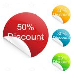20% to 50% Discount Tags