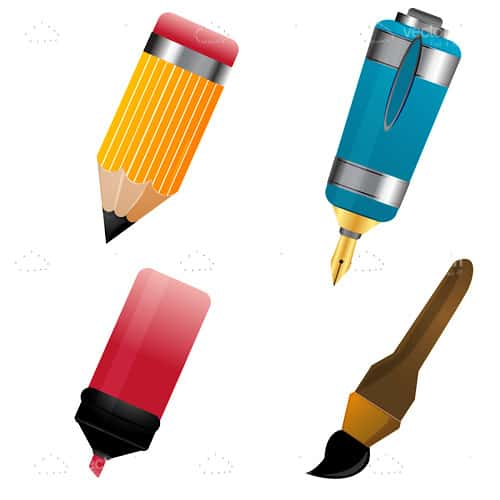 Set of Writing Items