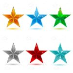 Colourful Stars Icon Pack