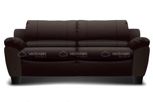 Cozy Black Sofa