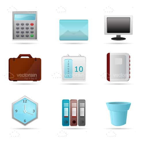 Professional Office Equipment 9 Pack