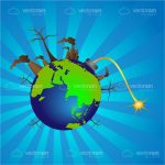 Polluted Earth Icon