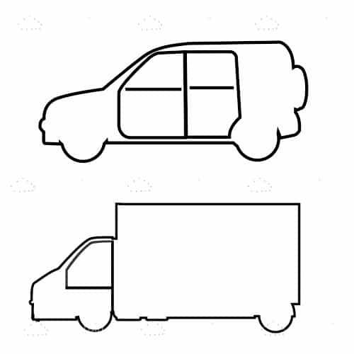 Sketched Vehicle Outlines