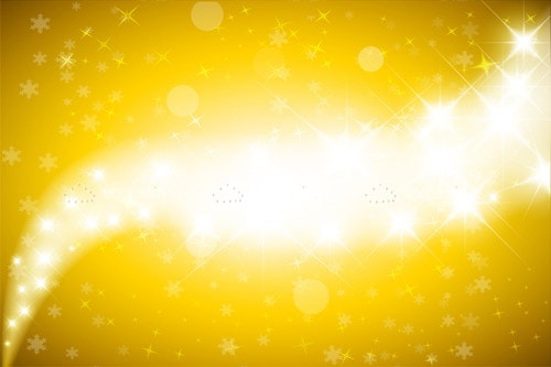 Abstract Yellow lights Background