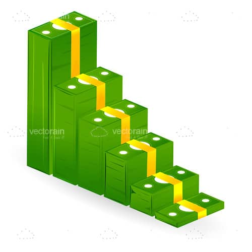 Wads of Bills Staircase