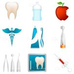 Dental Themed Icons 9 Pack