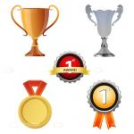 Prizes Icon Set