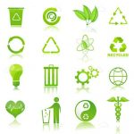 Recycling and Ecology Icon Set