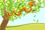 Snake with tree
