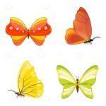 Colourful Butterfly Icons