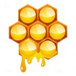 Dripping Honeycomb