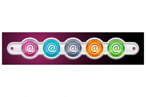 Email @ Symbol Icon 5 Pack