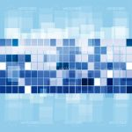 Abstract Background with Pixelated Effect