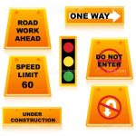 Traffic Signs Set