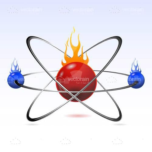 Abstract Atom Design with Flames