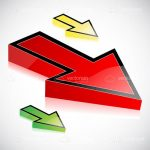 Red, Green and Yellow Arrows