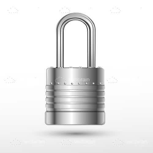 Illustrated Padlock