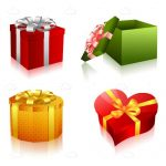 Various Gift Box Icons