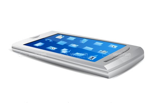 Mobile Phone with Touchscreen