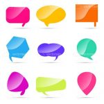 Colourful Speech Bubbles Pack