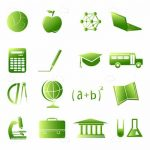 Studying and Academics Icon Set