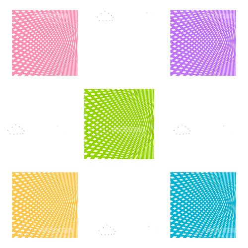 Colourful Abstract Square Background