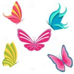 Colourful Butterflies Icon Pack