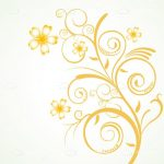 Floral Background Card