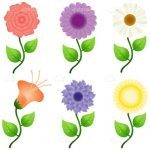 Colourful flower Icon Pack