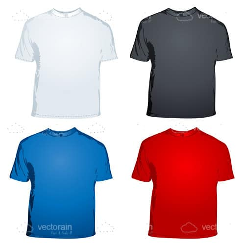 Male T-Shirt Icon Pack